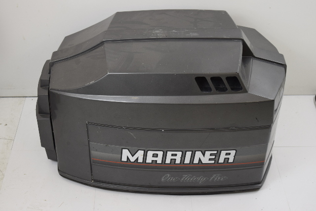 Mercury mariner top cowl front shield 9742a17 1989 95 for Best outboard motor for saltwater