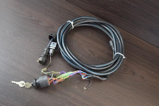 Yamaha Control Box External Wiring Harness 8 Pin Plug W Key