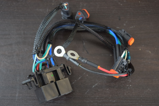 NEW! 2001-2006 Johnson Evinrude Power Trim Relay & Cable 586636 90  115 135+ HP