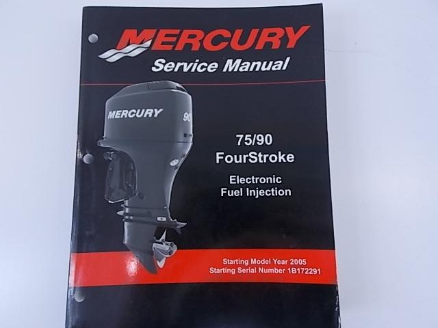 mercury service manual 75 90 4stroke efi model 897725