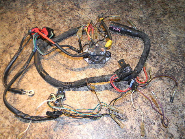 mercury wiring harness 828296a1 1996 1999 40 50 hp southcentral outboards