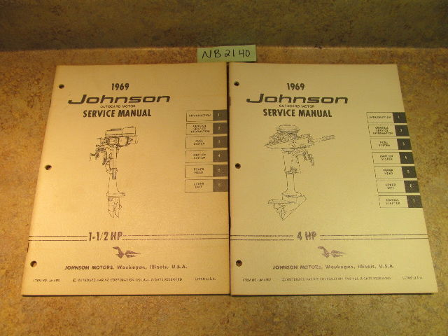 1969 johnson outboard service manual