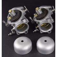 REBUILT! 1989 Force Carburetor Set F589061-2 F664061-1 125 HP Inline 4