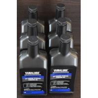NEW Yamalube Maintenance EFI Engine Storage Fogging Oil 6 32 oz Bottles