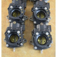 REBUILT! 1997-2001 Johnson Evinrude Carburetor Set 438516 438517 125 130 HP V4