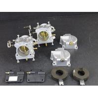 REBUILT! 1995-97 Johnson Evinrude Carburetor Set 437523 C# 338069 40 50 HP 2 Cyl