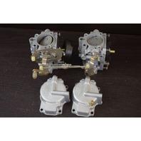 REBUILT! 1971-1973 Johnson Evinrude Carburetor Set 384235 C#315082 50 HP
