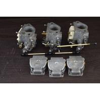 REBUILT! 2005 & UP Mercury Carburetor Set 824854T27 WME-115 65 JET 75 90 HP