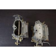 REBUILT! 1971 Johnson Evinrude Carburetor Set 384567 384568 C# 316710 125 HP V4