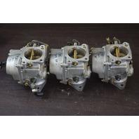 REFURBISHED! 1985-91 Yamaha  Carburetor Set 6H1-14301-15-00 6H1-14302-15-00 90HP