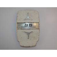 Johnson Evinrude Front Cover Medallion Door Shroud 35 HP 306246