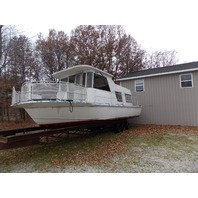 Marinette 34 Aluminum Houseboat LOTS OF POTENTIAL 1967