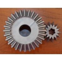 Mercury Gear Set Prop Gear Pinion Left Hand Rotation 80HP 800 43-29962 43-29961