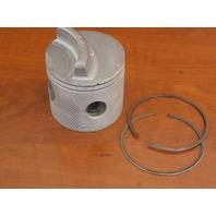 Wiseco .030 OS Piston Mercury Inline 6 140 150 HP 1970-1988 3023P3