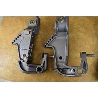 Nissan Tohatsu Transom Bracket Set 3C877-2110M 3C877-2120 2002 & Prior 40 50 HP