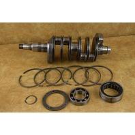 POLISHED 1973 Johnson Evinrude Crankshaft & Bearing Assembly 385533 85 115 HP V4