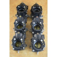 REBUILT! 1987 Johnson Evinrude Carburetor Set 398524 398525 200 225 HP