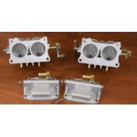 REBUILT! 1970 Johnson Evinrude Carburetor Set 384260 384259 85 HP V4