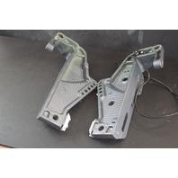 2001-2004 Yamaha Clamp Bracket Set 62Y-43111-00-4D 62Y-43112-00-4D 50 HP 4 Cyl
