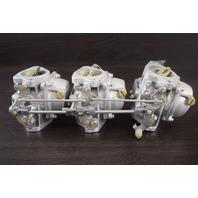 REFURBISHED! 1985-91 Yamaha Carburetor Set 6H3-14301-08-00 70 HP 3 Cylinder