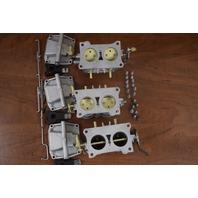 REBUILT! 1979 Johnson Evinrude Carburetor Set 389990 389991 324955 150 175 200