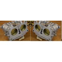 REBUILT! 1982-1983 Johnson Evinrude Carburetor Set 392600 327763 90 115 140 HP