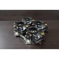 REBUILT! 1992 Johnson Evinrude Upper Carburetors 435045 435196 185 200 225 HP