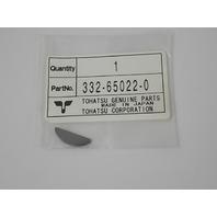 NEW OEM Nissan/Tohatsu Impeller Key 332-65022-0 2002 & earlier-2014 25- 50