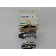 NEW Perko Bulkhead Light Fixture 0217DP0CHR