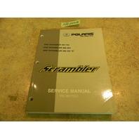 2002 Scrambler 500 2x4 4x4 and 4x4 X Service Manual PN 9917201