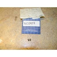 NOS OMC Johnson Evinrude Idle Air Bleed #43 Orifice 325828 0325828