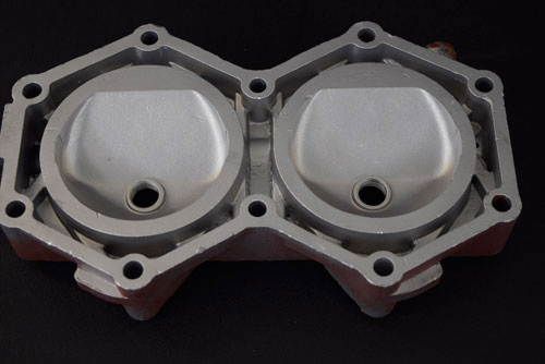 After photo of cylinder head