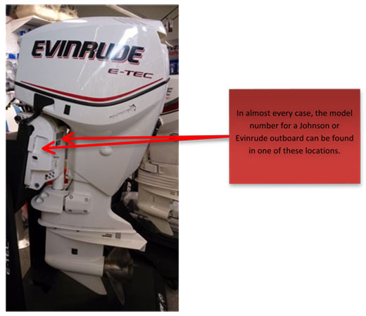 Johnson & Evinrude. Johnson and Evinrude outboards both work with model numbers ...