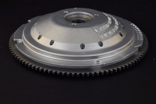 After photo of flywheel