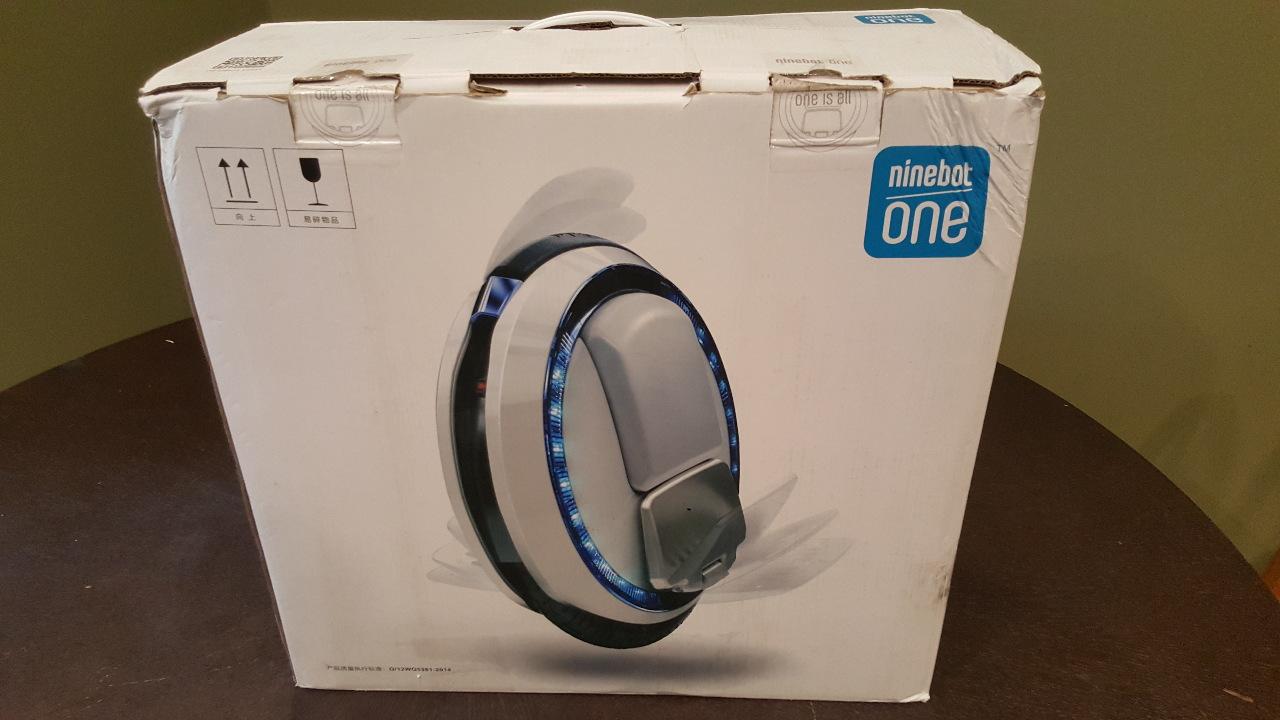 Ninebot One C Plus Electric Unicycle Ebay