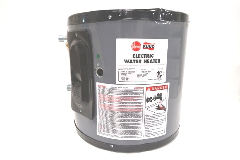 Rheem 6 Gallon Water Heater