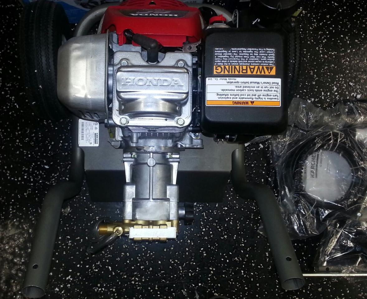 Karcher pressure washer w honda engine g3000oh 3000psi ebay for Power washer with honda motor