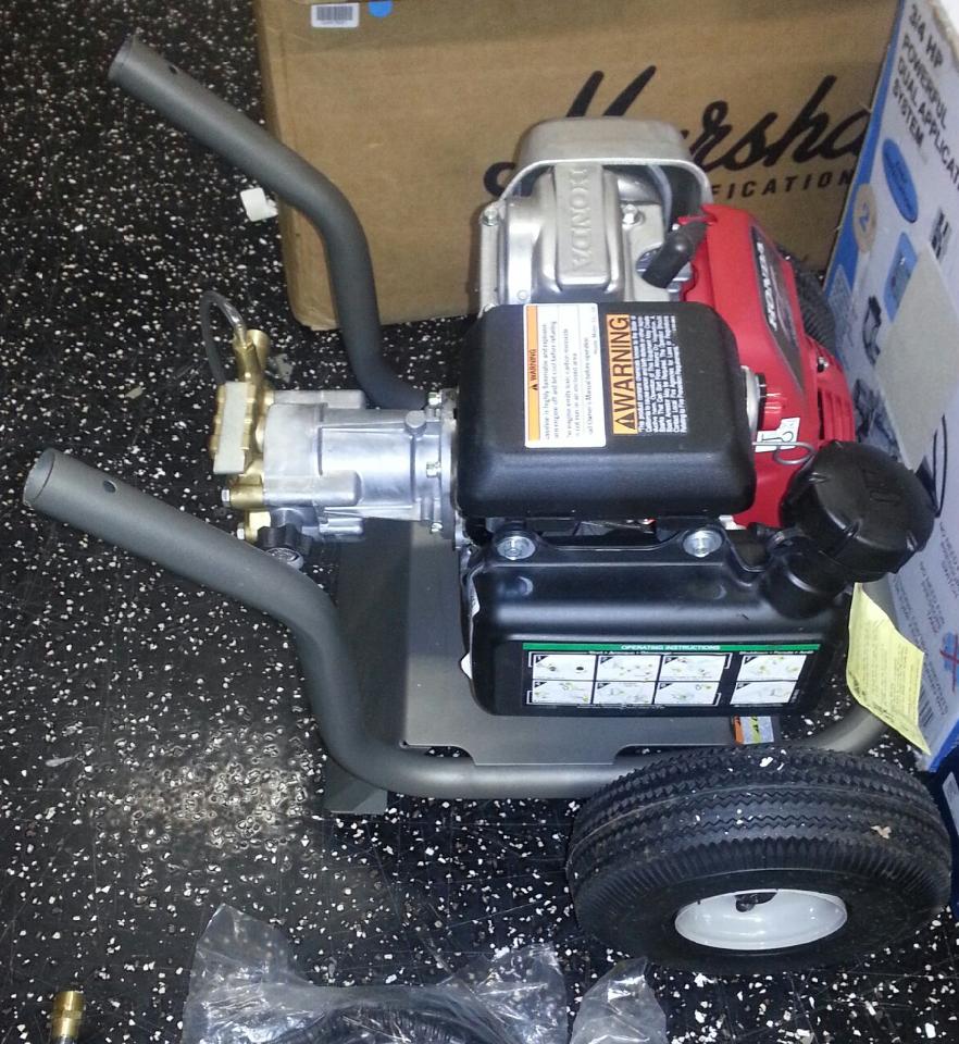 Karcher Pressure Washer W Honda Engine G3000oh 3000psi Ebay