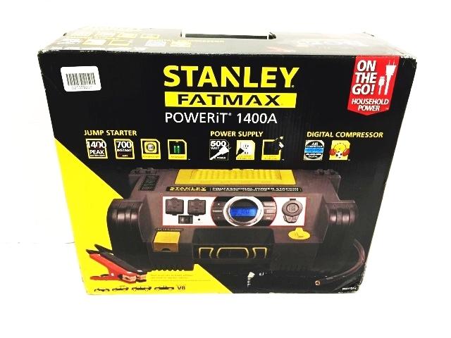 stanley fatmax powerit jump starter pro power digital powerit 1400a ebay. Black Bedroom Furniture Sets. Home Design Ideas