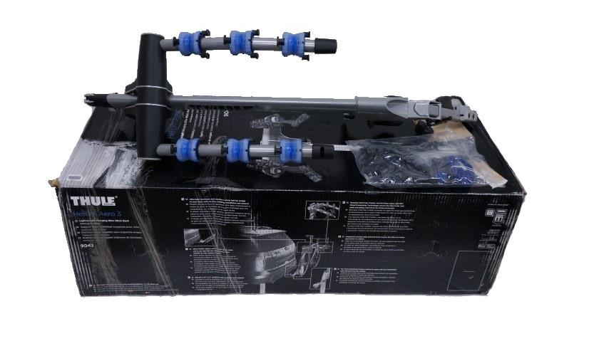 THULE HELIUM AERO 3 LIGHTWEIGHT BIKE HITCH CARRIER RACK