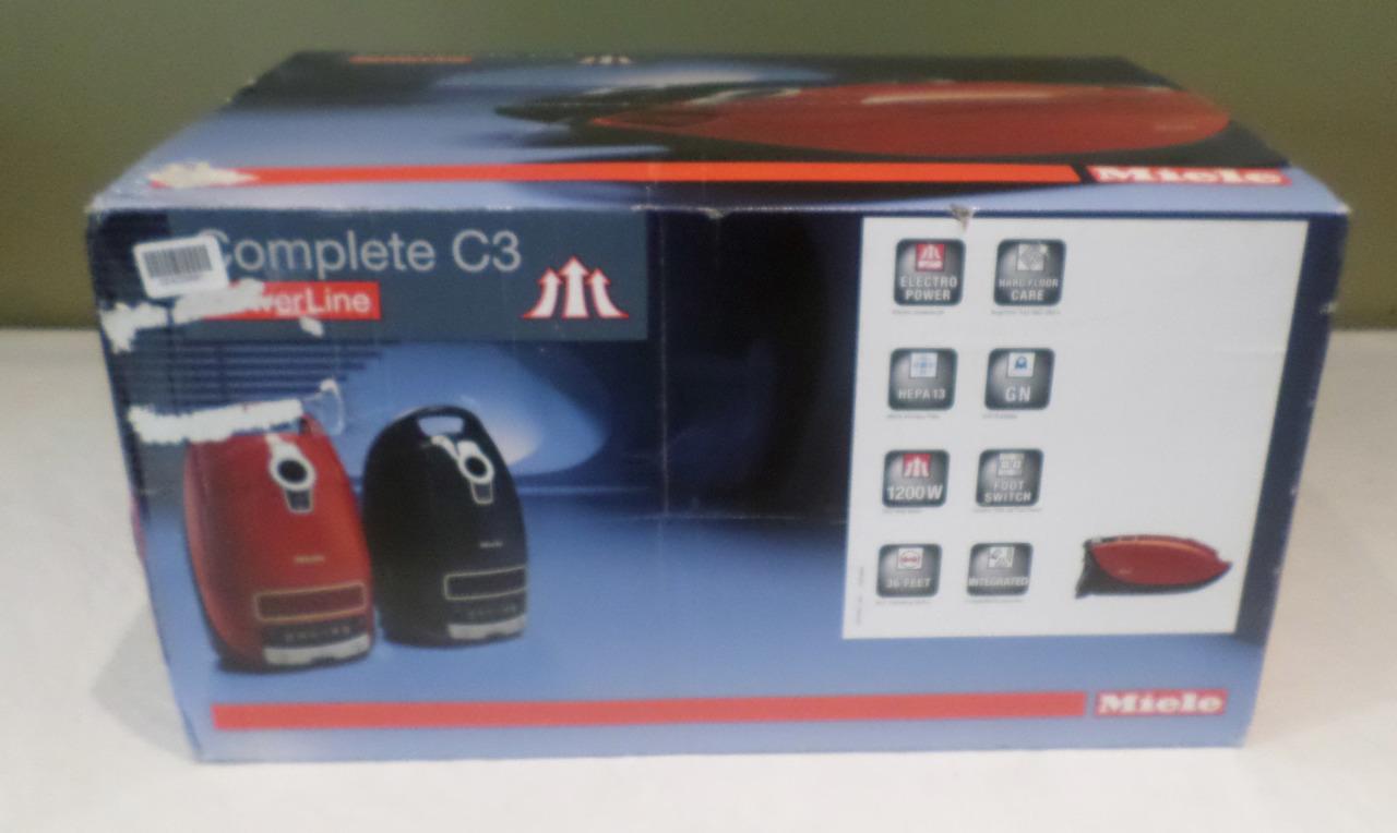 miele sgfe0 complete c3 powerline homecare mango red canister vacuum mdg sales llc. Black Bedroom Furniture Sets. Home Design Ideas