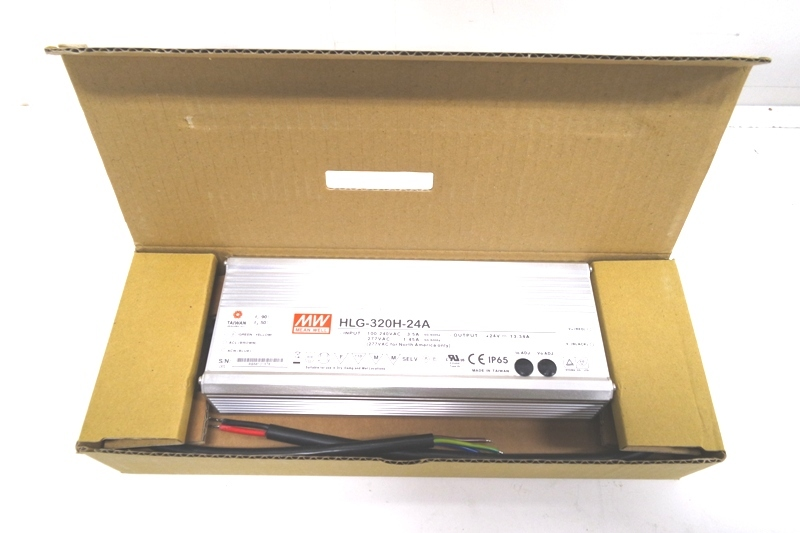 Mean Well Ac Dc Led Driver Hlg 320h 24a Mdg Sales Llc
