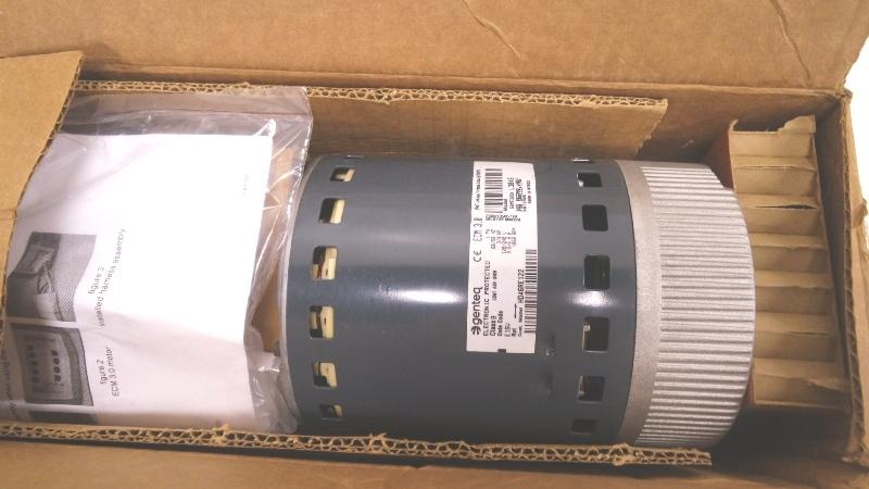 Genteq 58mv660002 ecm 3 0 blower motor assembly mdg for Ecm blower motor tester