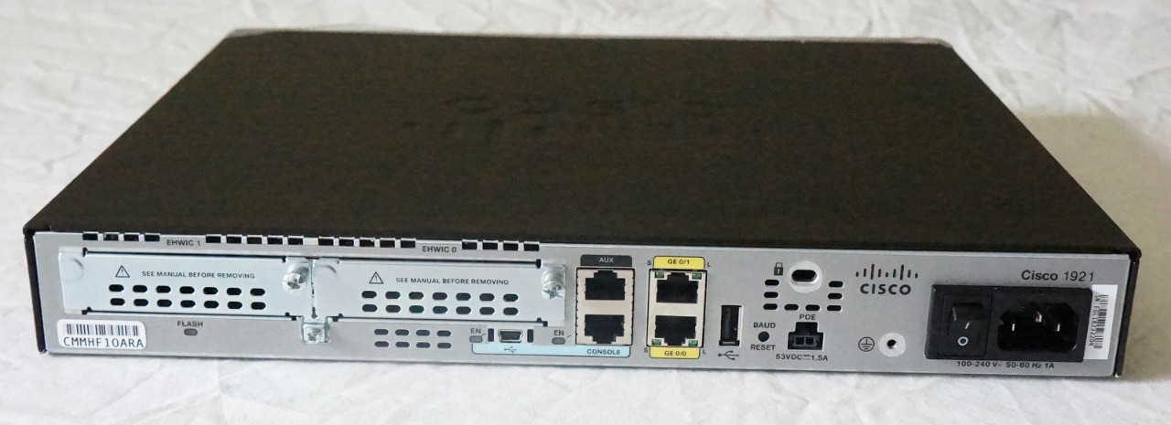 CISCO 1900 SERIES 1921 INTEGRATED SERVICES ROUTER