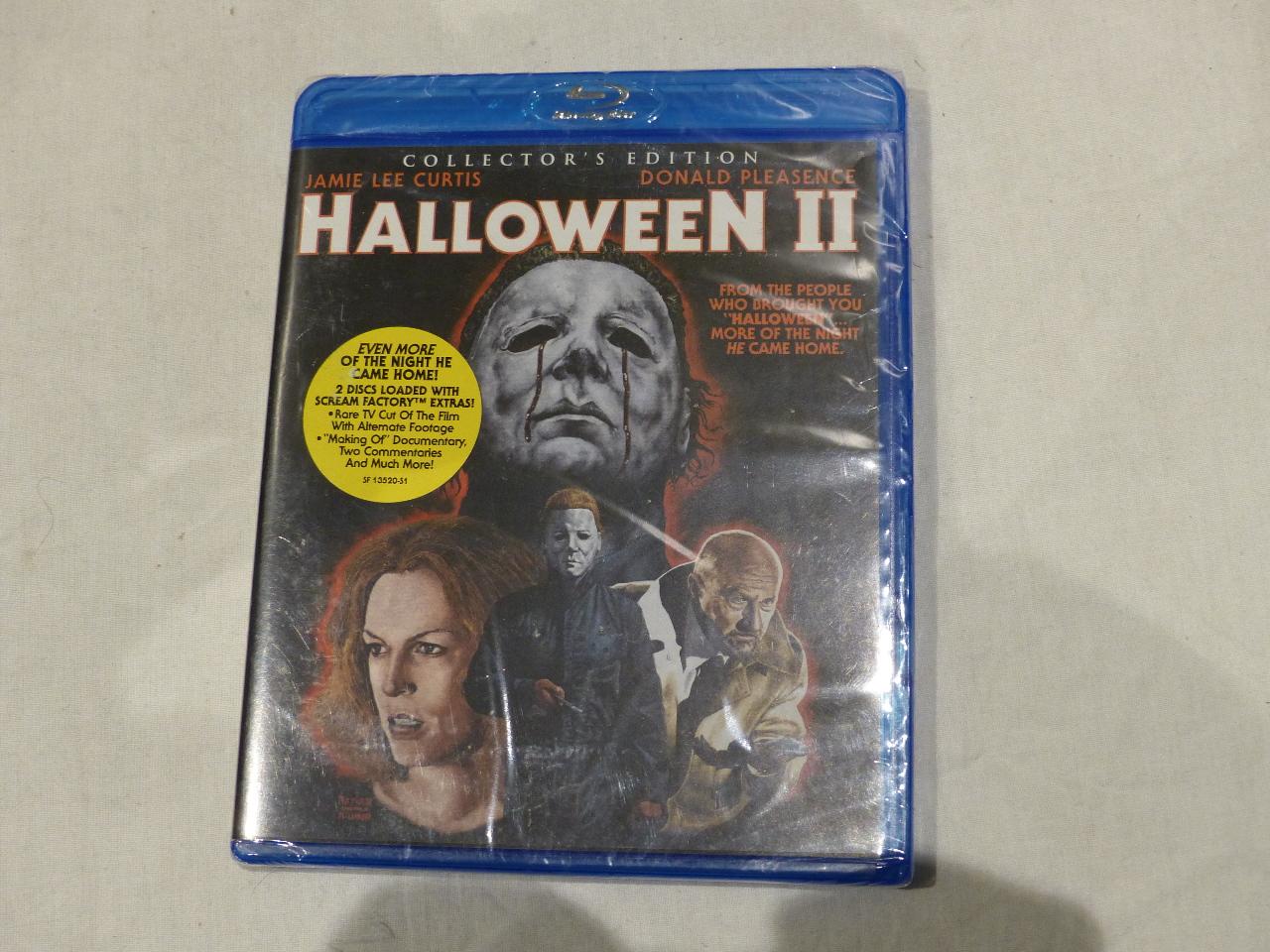 halloween ii collectors edition blu ray new - Halloween Ii Blu Ray