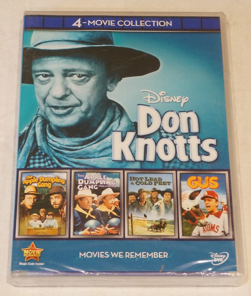 DON KNOTTS 4 MOVIE COL...
