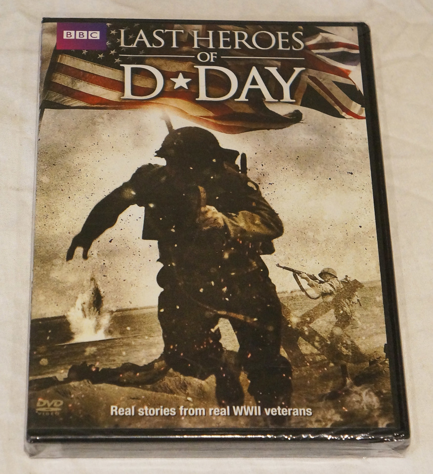 LAST HEROES OF D-DAY BBC DVD