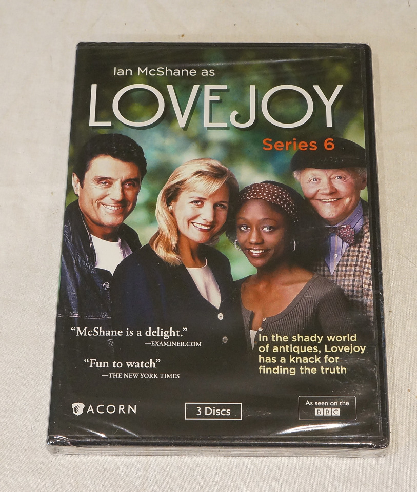 LOVEJOY: SERIES 6 DVD SET NEW