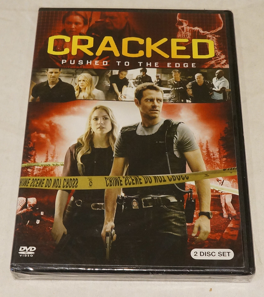 CRACKED: PUSHED TO THE EDGE DVD NEW