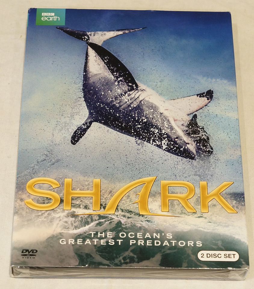 SHARK THE OCEAN'S GREATEST PREDATORS DVD NEW / WITH SLIPCOVER
